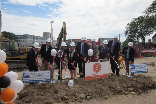East Library Ground Breaking Ceremony – July 30, 2013